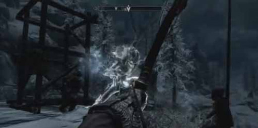 Skyrim Dragonborn shatter the Wind Stone and defeat the lurker to decide the fate of the Skaal