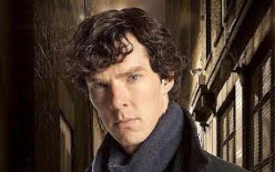 Benedict as Sherlock Holmes