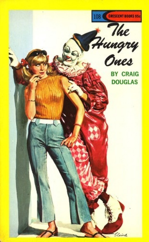 Believe it or not, this is a romance novel. Really. I wouldn't kid you. I'm not clowning around.