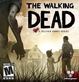 Box art for the hard-copy release of The Walking Dead