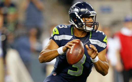 Russell Wilson is the highest rated QB in the NFL through the month of November and is leading the Seahawks to a possible playoff berth in his rookie year.