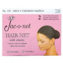 Jac-o-net hair nets are inexpensive and great for ballet buns