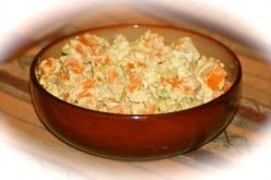 Savory Steamed Sweet Potato Salad