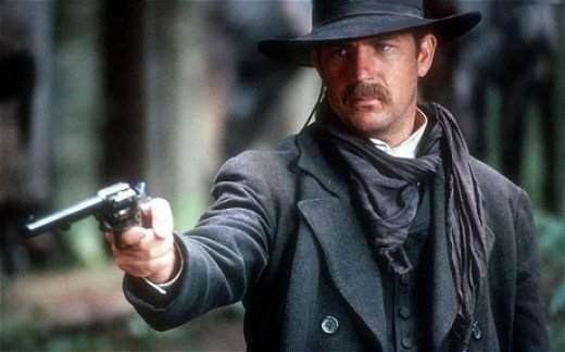 """Kevin Costner as Wyatt Earp in """"Wyatt Earp"""" (1994)"""