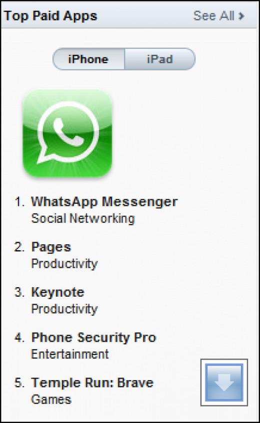 Whatsapp messenger from App Store