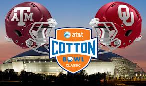 #12 Oklahoma and #11 Texas A&M will play in The 77th AT&T Bowl Classic