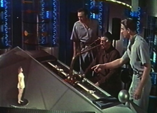 "In the 1956 ""Forbidden Planet"". the Krell had a machine that turned their thoughts into reality"