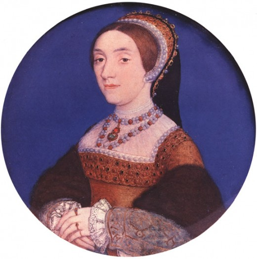 This miniature is of a woman supposed to be Catherine Howard.