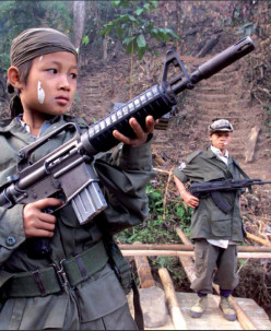 7 Facts About Child Soldiers, including Children & Guns, A Poem