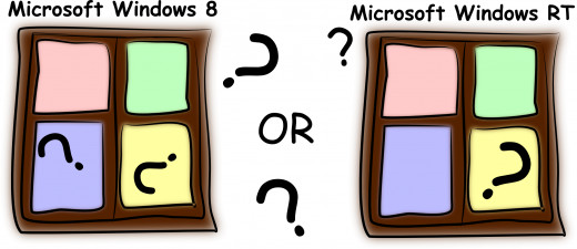 What are the differences between Microsoft Windows 8 and Microsoft Windows RT?