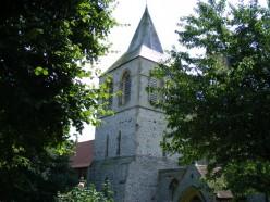 Tower of St Nicholas Church Pevensey