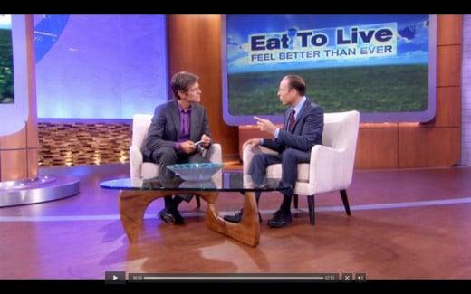Dr. Joel Fuhrman on Dr. Oz TV Show