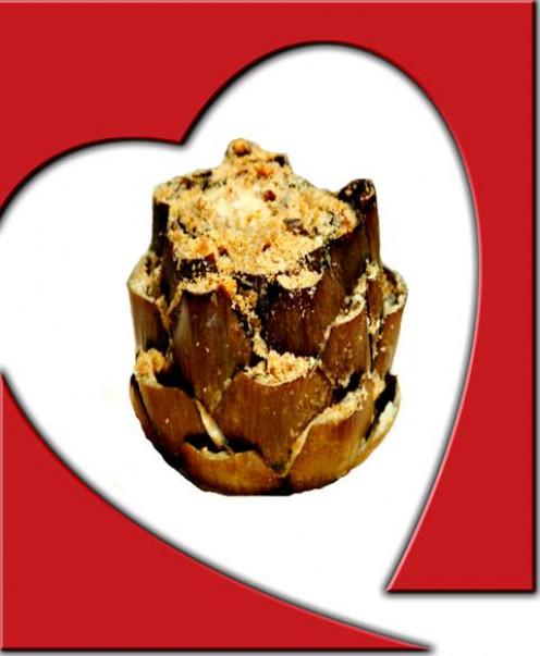Savory Herb-Stuffed Artichoke