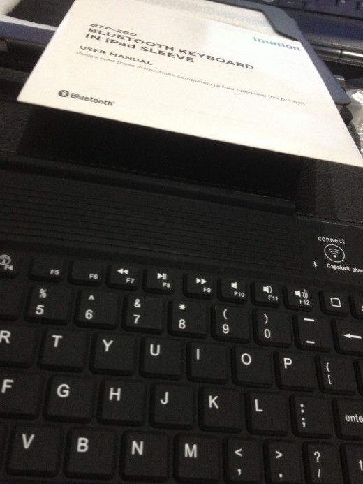This is why it is a mini laptop: It comes with mini keyboard accessories!