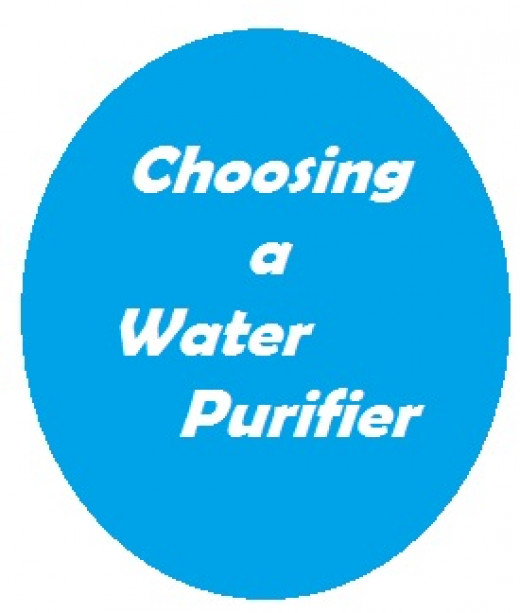 Choose your water purifier carefully.  Good drinking water is vital to your health!