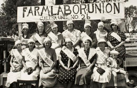 Farm Labor Union; Galena, KS 1938