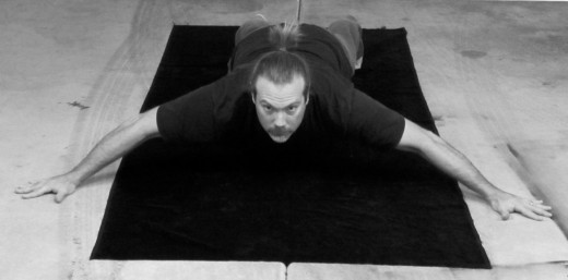 The Iron Cross Plank
