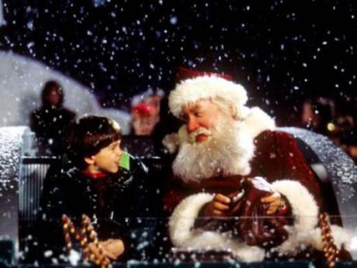 Tim Allen is Santa Clause