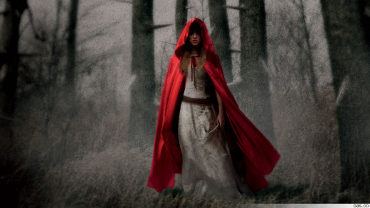 little red riding hood wallpaper