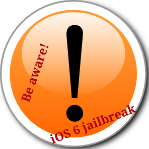 Apple iPhone/iPad iOS 6.1, 6.0, 6.0.1 and iOS 6.0.2 jailbreak scam sites are becoming common. Be cautious when visiting any sites that claim to provide methods for jailbreaking your Apple iPhone running iOS 6.1, 6.0, 6.0.1 and iOS 6.0.2!