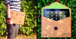 Postcard iPad Sleeve