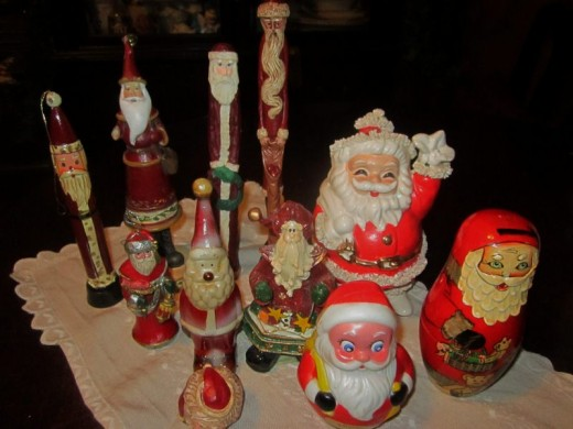 Collection of Santas