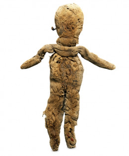 The oldest known rag doll.