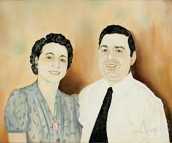 Portrait of Teressa and Frank Bellissimo