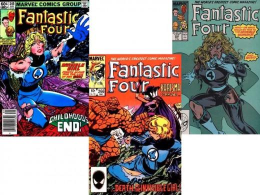 Fantastic Four #245, 266, 332