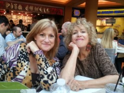 My Lunch with Fellow Hubber, Carol7777