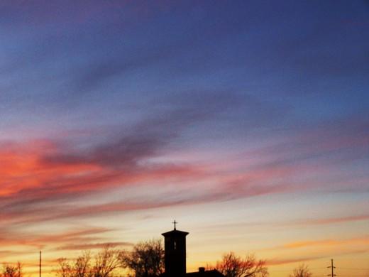 A beacon of the celestial lighthouse