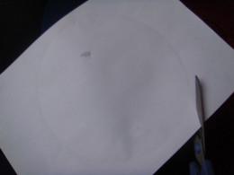 Cut around the circle