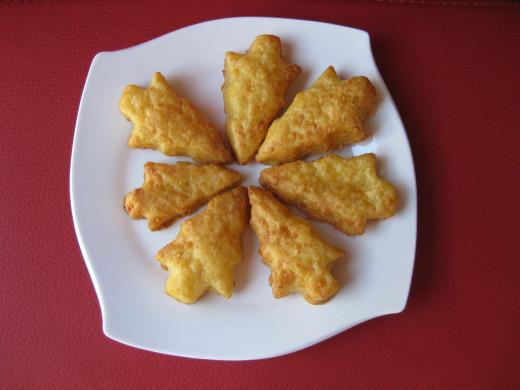 Christmas Cheese Crackers