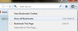 Image2: Show All bookmarks