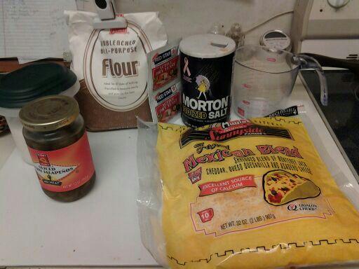 Homemade Bagel Ingredients