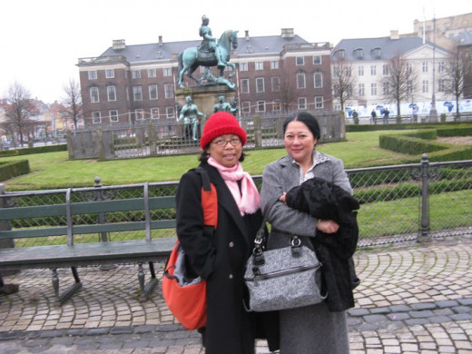 With my BFF- My best female friend - COPENHAGEN 2011