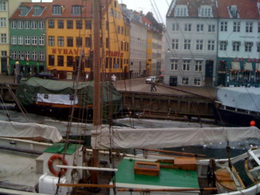 NYHAVN-old port -Copenhagen