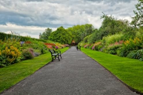 Belfast Botanical Gardens in Northern Ireland