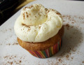 Gluten-Free Eggnog Cupcakes - A Low-Fat Version