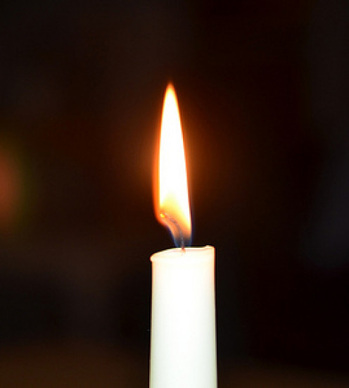 A lit candle will detect air leaks in the house.
