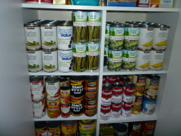 I'm ready for the fiscal cliff with full cupboards.