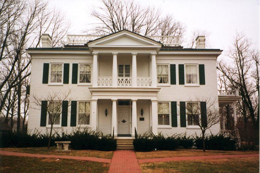 Lane Place is the former home of U.S. Senator Henry Smith Lane