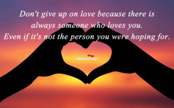 Don't Give Up on Love - Give It One More Try