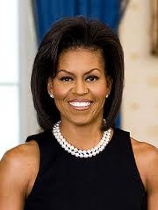 """First Twice"" First Lady Michelle Obama  Desired by President Obama"