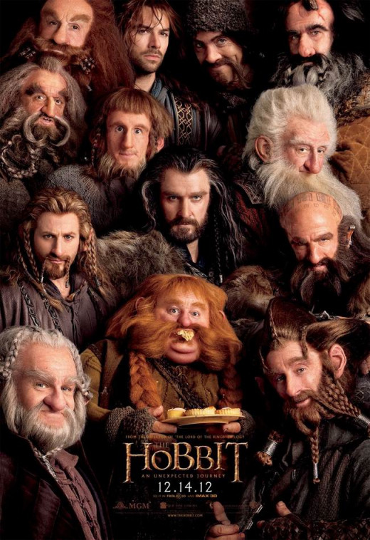 The Hobbit: An Unexpected Journey (2012) poster