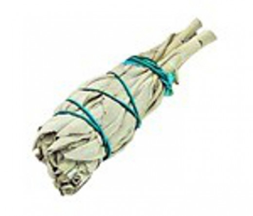 White sage smudge bundle