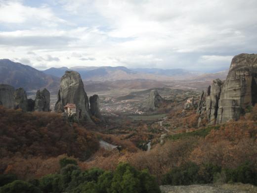The views of Kalambaka