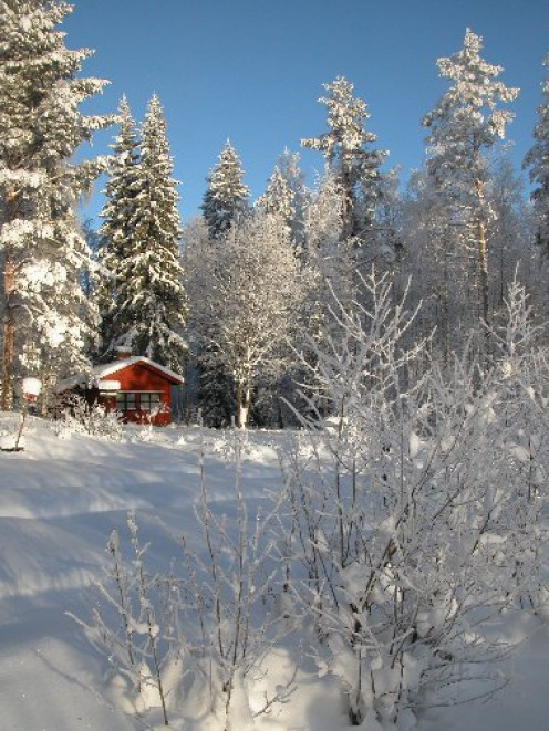 Mairela Retreat Cottage In The Finnish Winter