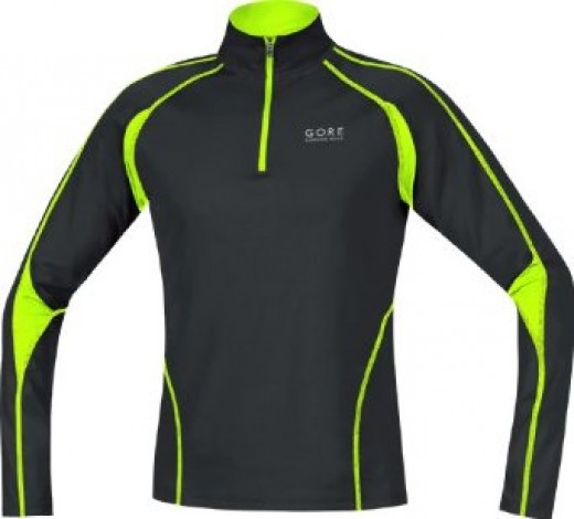 Gore Running Wear Men's Flash 2.0 Winter Weight Thermal Jersey