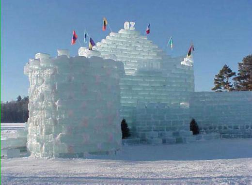 Saranack Lake Ice Castle